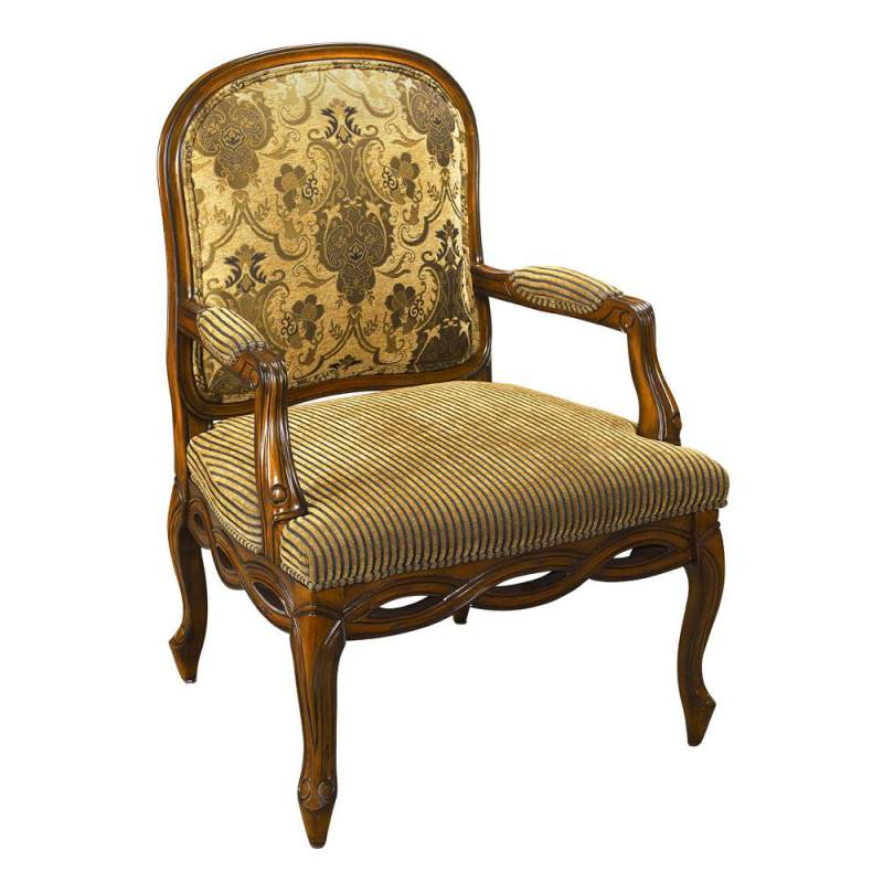 Buy Exposed Wood Accent Chair