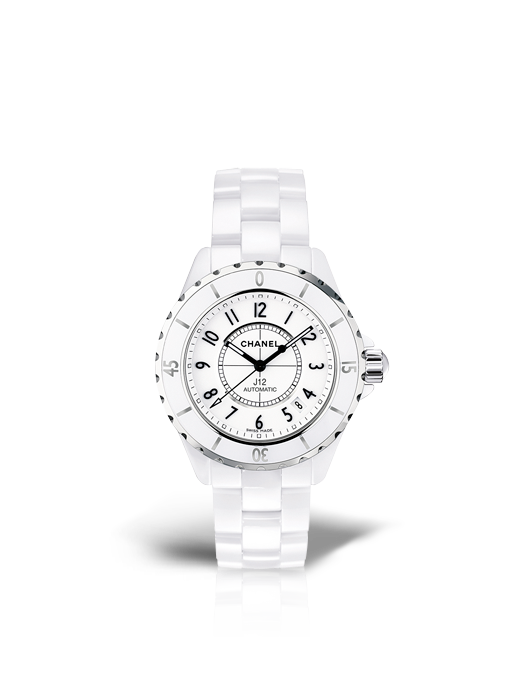 Buy Chanel J12 White Watch