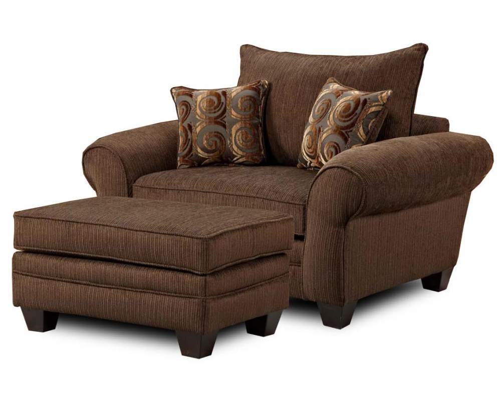 Oversized Chair and Ottoman Combination buy in Smithville on English