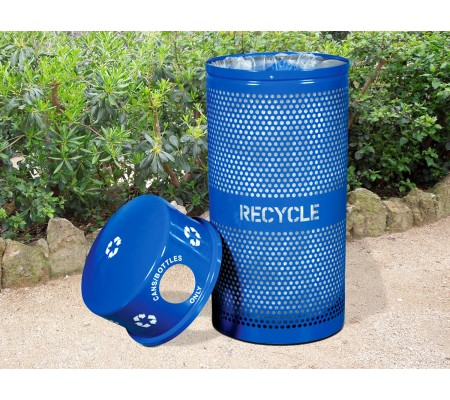 Buy Landscape Series™ 34-Gallon Perforated Recycling Receptacle