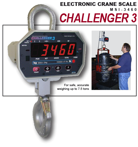 Buy All-New Generation Challenger 3 Crane Scale