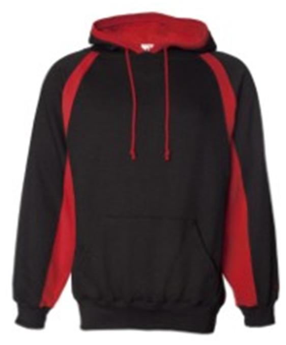 Buy Black Red Badger - Hook Hooded Sweatshirt