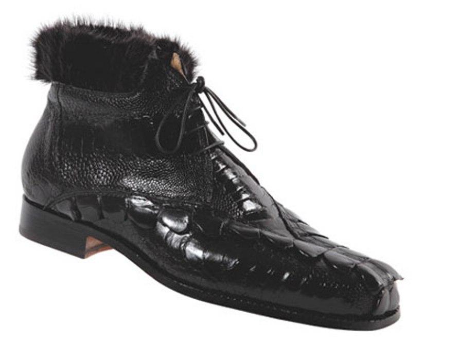 Buy Mauri hornback, Ostrich leg & mink boot