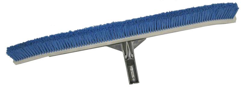 "Buy 18"" Eelux Pool Wallbrush, Curved, Nylon Bristles Won't Damage Pool Surface"
