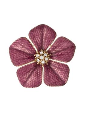 Buy Garden of Love Fuchsia Flower Pin