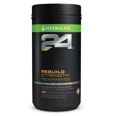 Buy Herbalife24 Rebuild Strength Chocolate 35.6 oz (1010g)