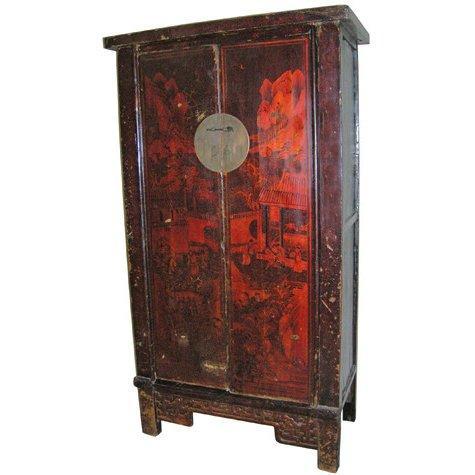 Buy Antique Handpainted Armoire