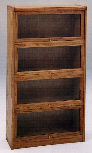 Buy Four Stack Lawyers Bookcase