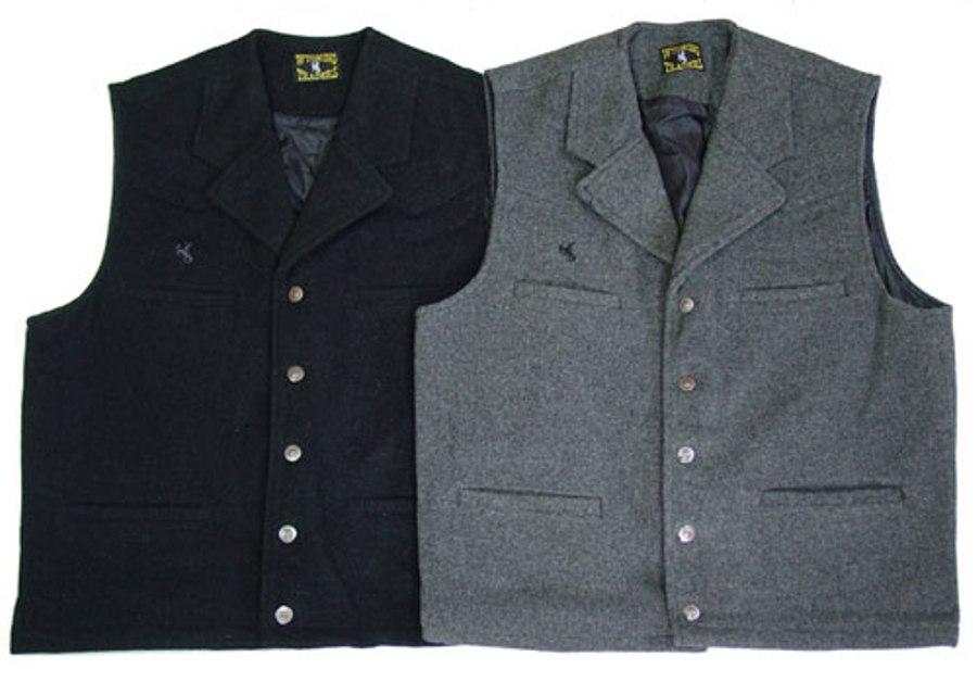 Buy Buckaroo men's wool vest