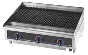 "Buy Counter Top Lava Rock 36"" Char Broiler"
