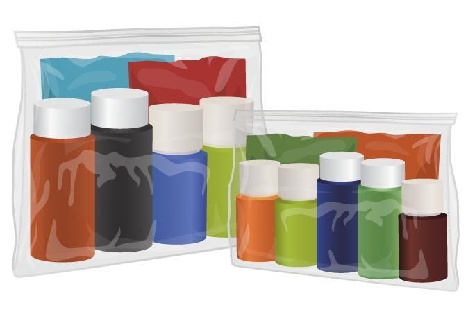 Buy Clear Slider Grip Bags SG1