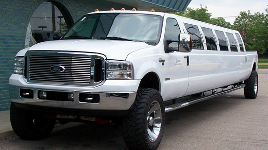 Ford Truck Limo f 350 Monster Truck Limo