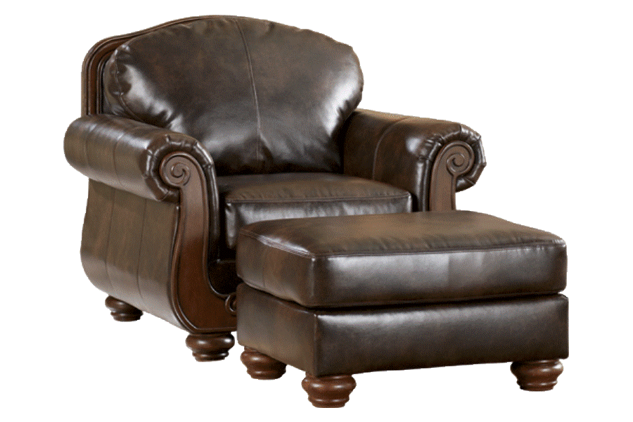 Buy Barcelona - Antique armchair with ottoman