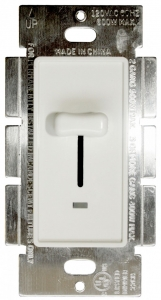 Buy Sliding Dimmer with LED Single Pole 600W