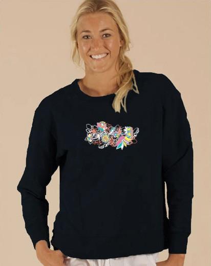 Buy Modern Floral Schlumpy Sweatshirt