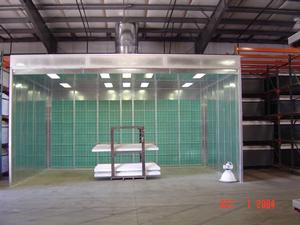 Buy Open-Faced Paint Booth