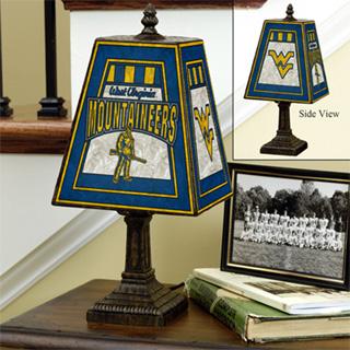 "14"" Art Glass Table Lamp"