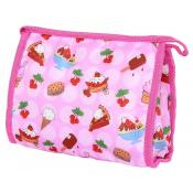 Sweet Treats printed Zippered Cosmetic Bag
