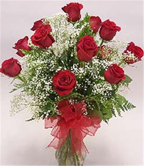 Buy Deluxe Dozen Roses