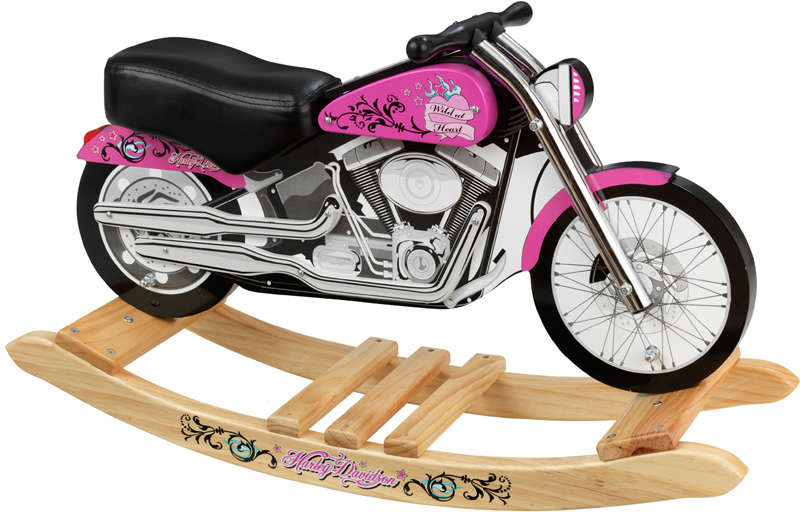 Awesome Harley Davidson Pink Softail Rocker For Girls