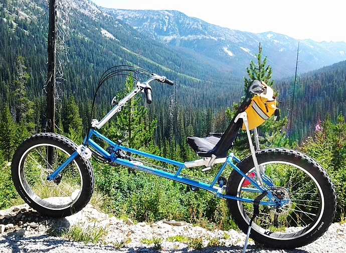 The Bigfoot Off-Road Fat-Tire Mountain Bike
