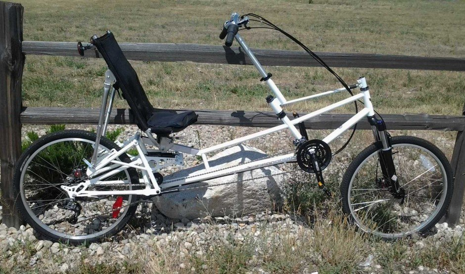 The Bushmaster Fully Suspended Recumbent Mountain Bike