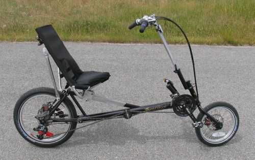 The Sugar Baby Compact Recumbent Bike