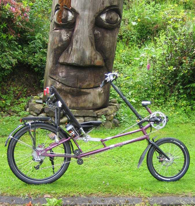 The Verano Sporty Recumbent Bike