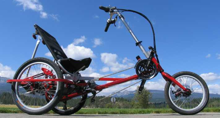 The Sprite Compact gRecumbent Trike