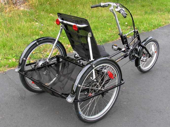 The Roadrunner Large-Capacity Recumbent Trike