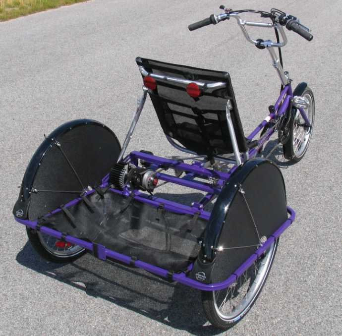 Recumbent Trikes For Adults The Courier Recumbent Trike