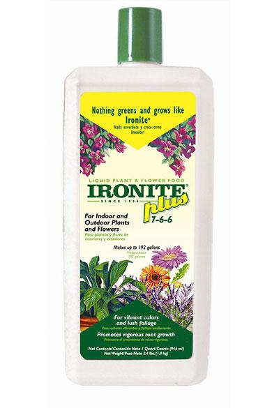 Buy IRONITE® Plus Liquid Plant & Flower Food 7-6-6
