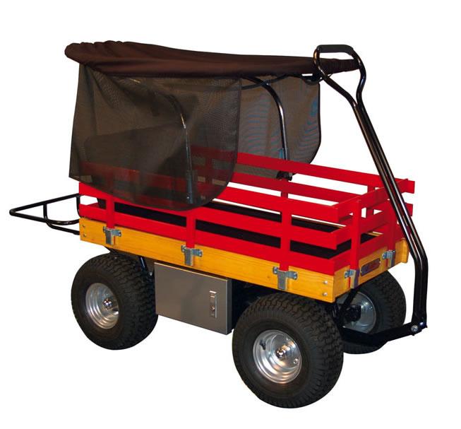 Heavy Duty Garden Wagon With Canopy