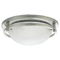 Two-Light Eternity Ceiling Fixture