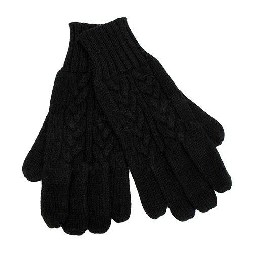 Buy Cable Knit Pattern Cold Weather Winter Gloves