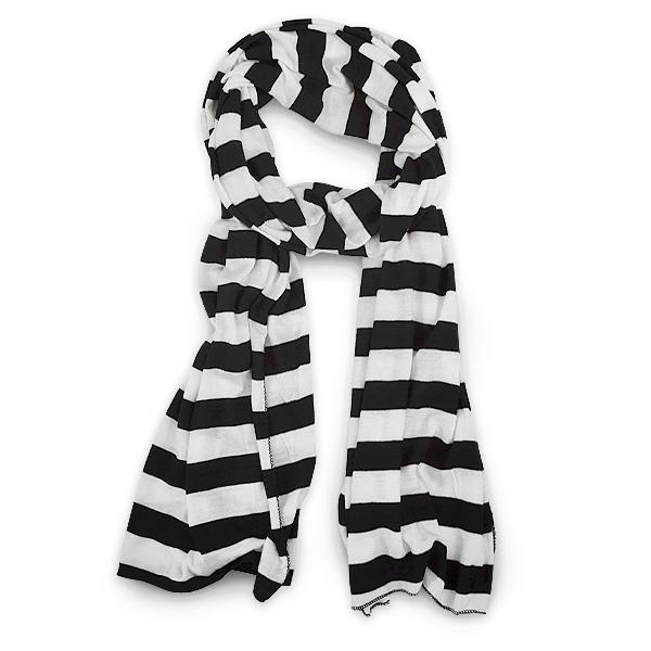 Buy Bold Stripe Basic Scarf