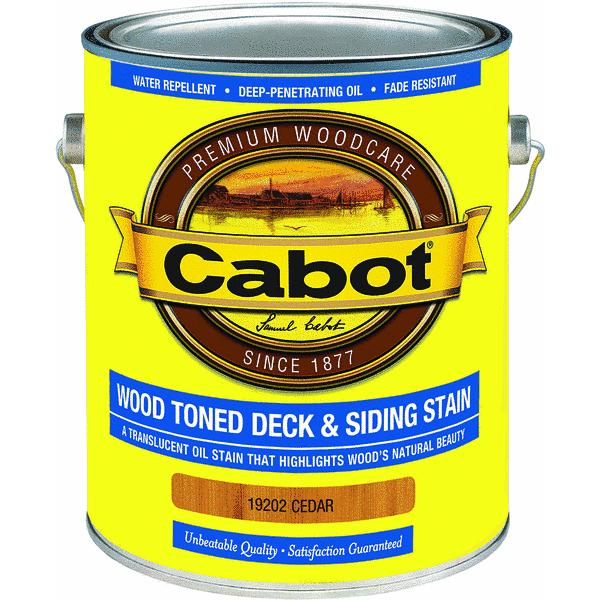 Cabot® VOC WOod Toned Deck And Siding Exterior Stain