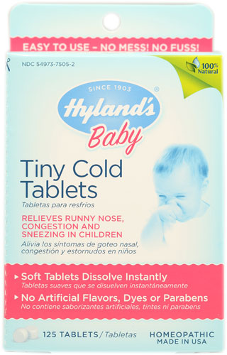 Buy Hyland's Baby Tiny Cold Tablets