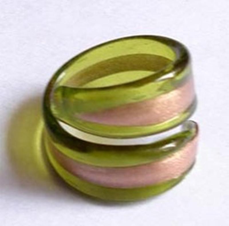 Buy Oversized glass ring
