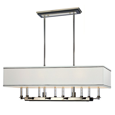 Buy Collins 2938-PN Polished Nickel Island Light