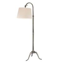 Buy Burton L605-AS Aged Silver Floor Lamp