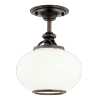 Buy Canton 9809F-OB Old Bronze Semi Flush