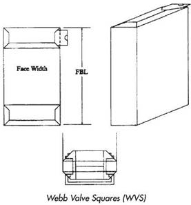 Buy Webb Valve Squares Bag