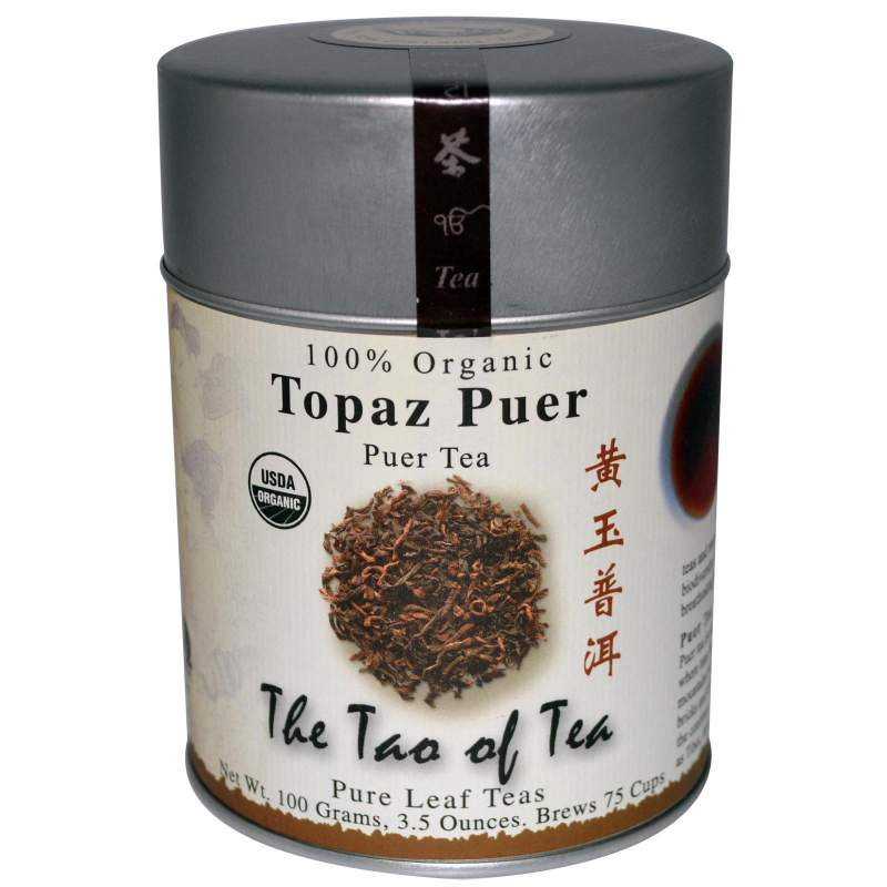 Buy 100% Organic Puer Tea