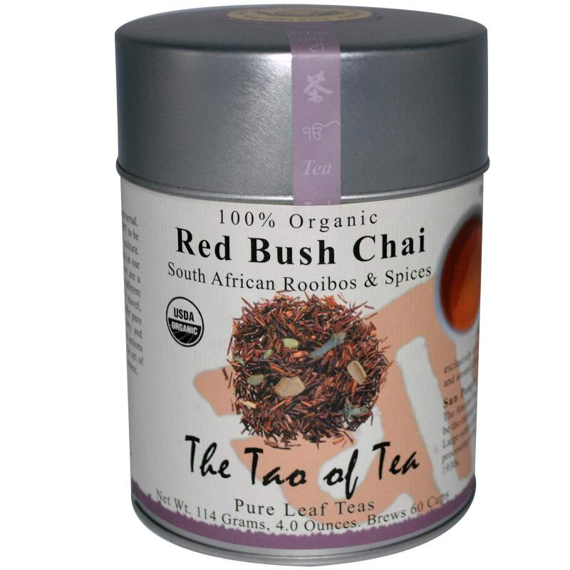 Buy 100% Organic South African Rooibos & Spices Red Bush Chai