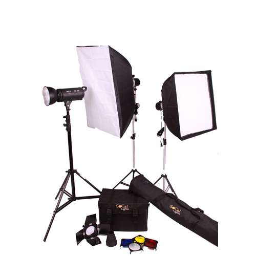 Buy 200W Studio Kit With Softboxes