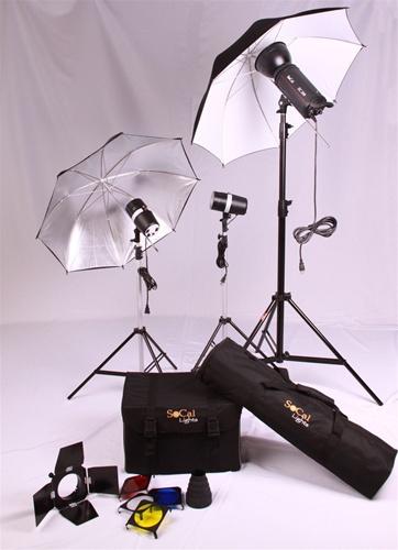 Buy 200W Studio Kit With Umbrella