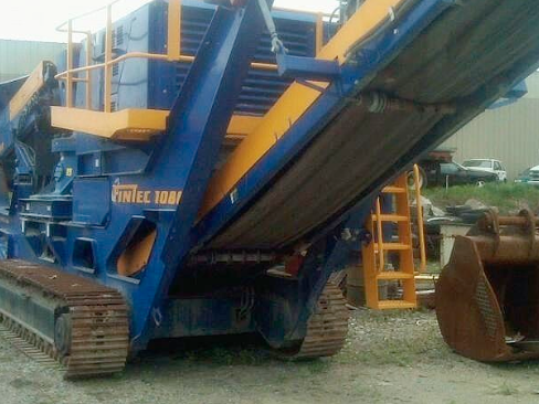 Buy Track Mounted Cone Crusher Complete w/ All Factory Standards