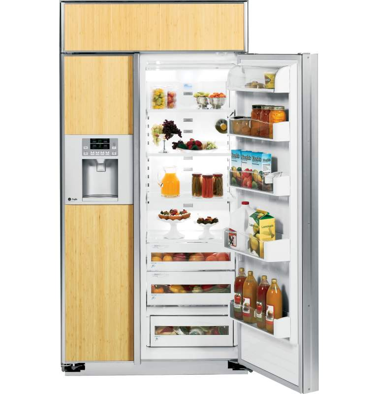 Built in Refrigerator 42 ge ge Profile 42 Quot Built in Side by Side Refrigerator With Dispenser