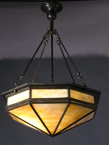 Buy Slag Glass Inverted Dome